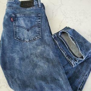 Levi's 513 blk label slim straight jeans 34x30